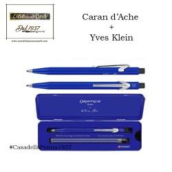 Caran d'Ache 849 + Klein Blue