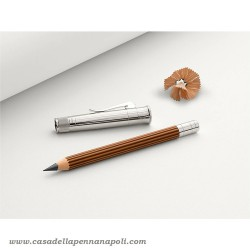 Matita Perfetta Magnum Faber Castell + Allungalapis laminato in platino