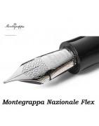 penne montegrappa nazionale flex - pennino flessibile