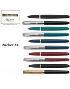 Parker 51 - penna sfera e penna stilografica